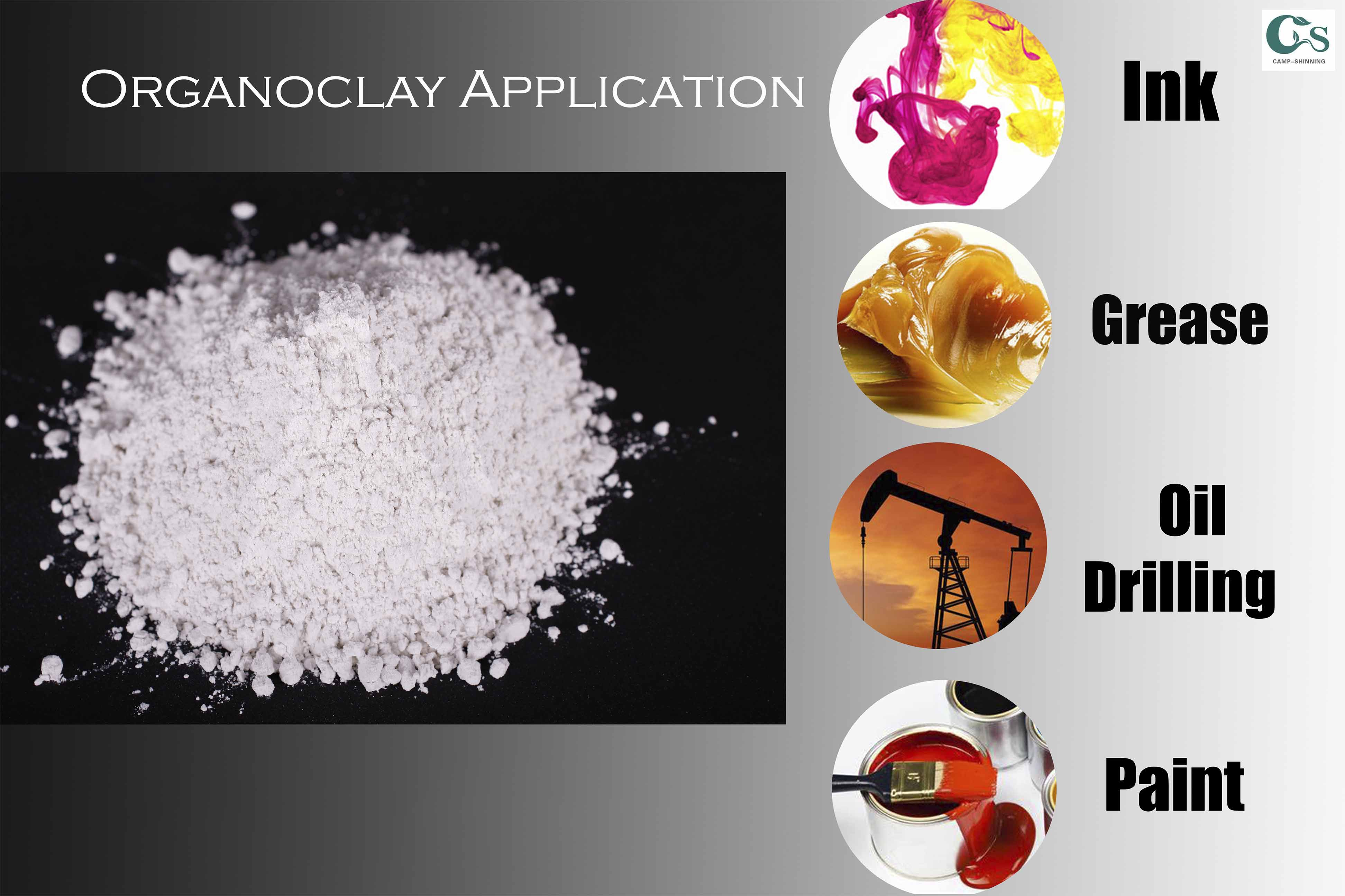 Organophilic Clay CP-2A Used Particularly in Diesel Oil Fluids